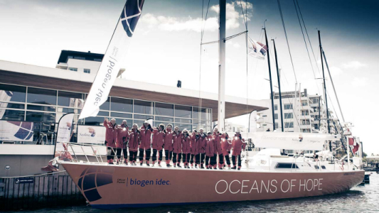 Kiwi And Aussie Crew Members Join Oceans of Hope Circumnavigation Voyage For MS Ability Awareness