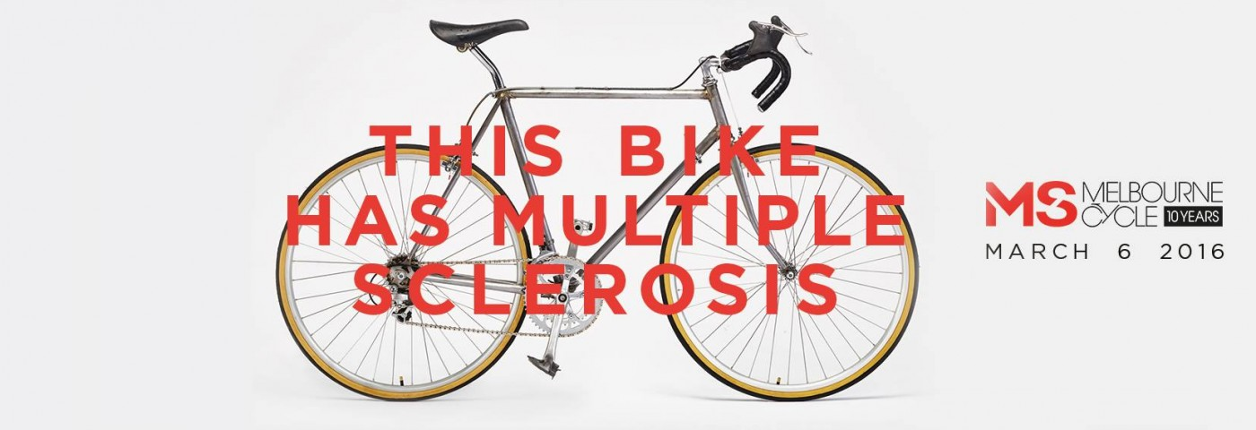 Bike With Multiple Sclerosis Symptoms Debuts for 2016 Australia Fundraising Race