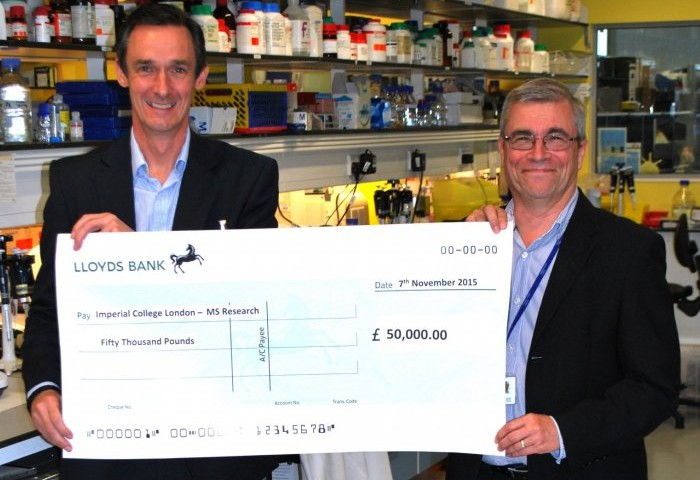 MS Researcher Using £50,000 Donation to Further Research