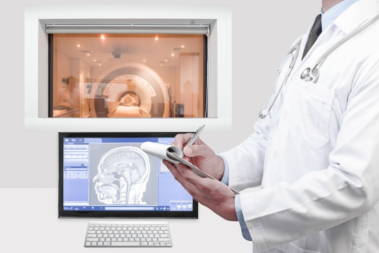 MRI scans and MS
