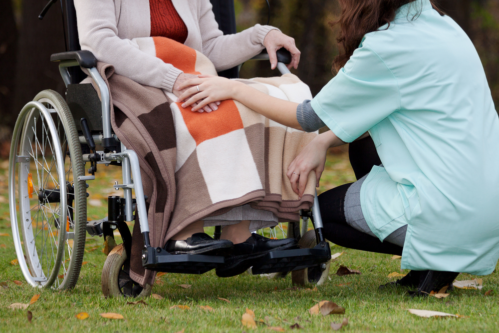 Home care for MS patients