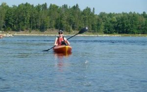 Jennifer Molson kayaking CREDIT THE OTTAWA HOSPITAL