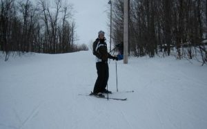 Jennifer Molson skiing after recovering from MS. (Picture: Ottawa Hospital)