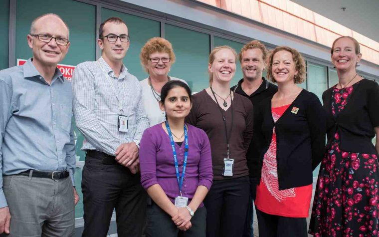 Wellington Hospital research team