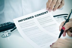 informed consent and MS