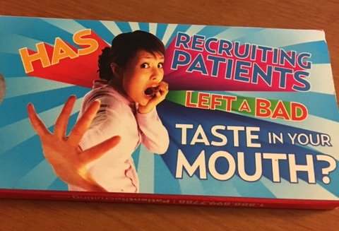 Patient Recruitment for Clinical Trials: Something To Chew On