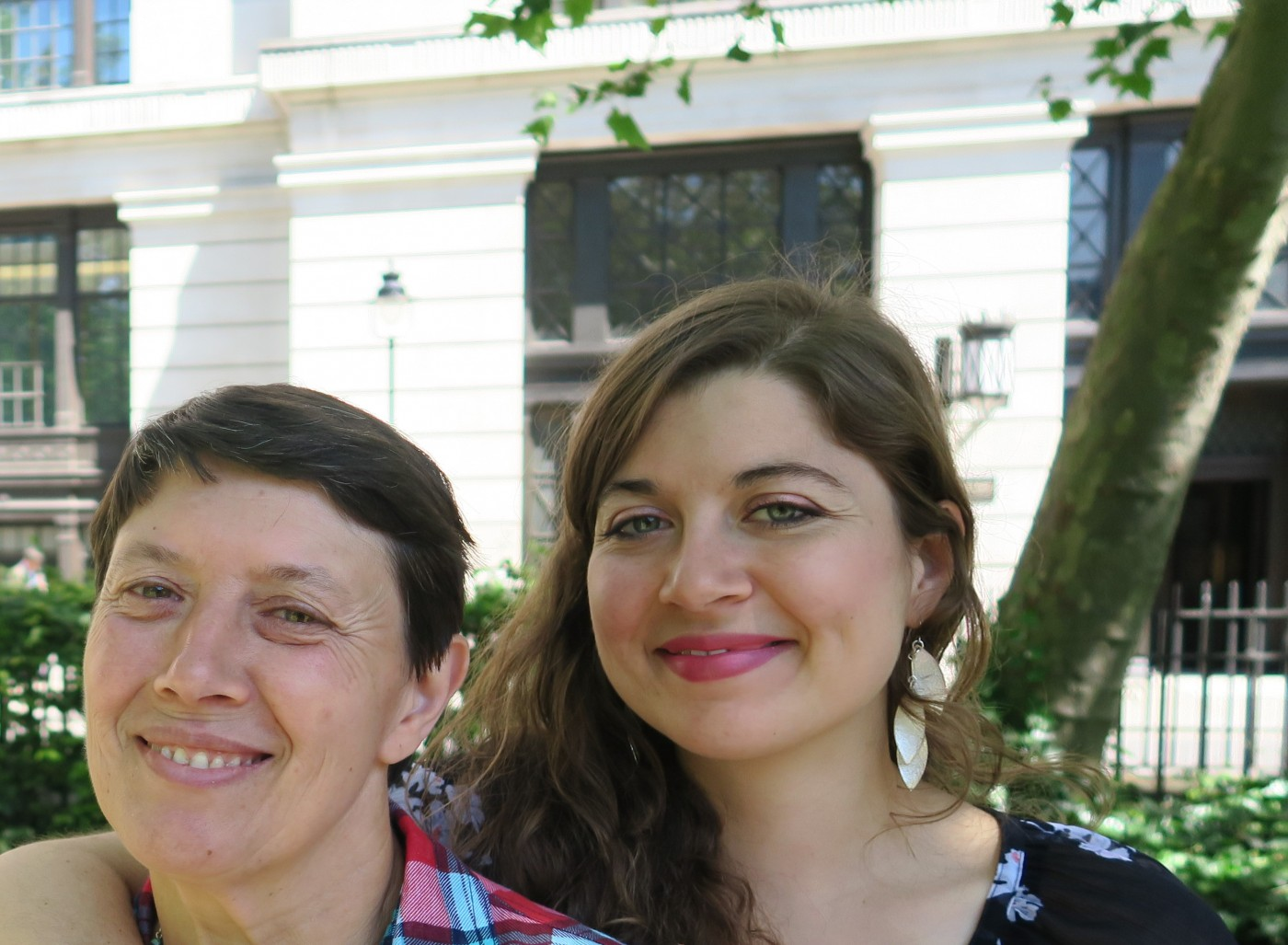 Juliette and her mother, Marie.
