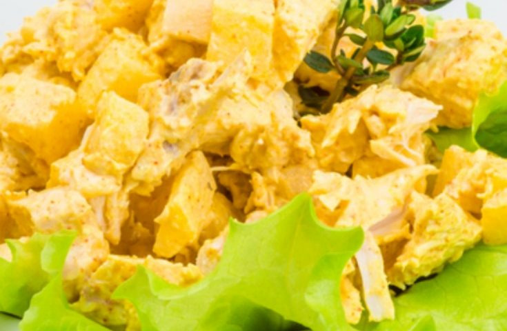 Anti-inflammatory Recipe: Curry Chicken Salad