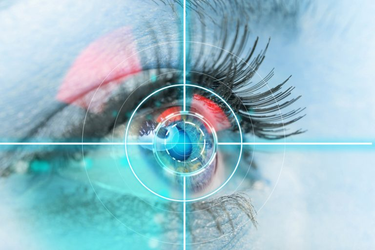 eye measures and MS disability