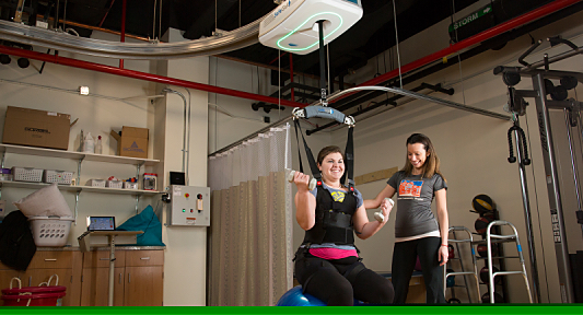 University to Use New Balance and Mobility Trainer for Therapy, Research