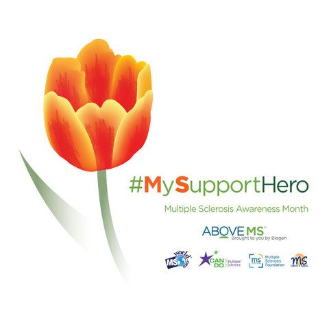 MS Organizations Join #MySupportHero Initiative to Help Patients Salute Those Who Care