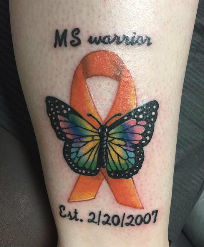 ab195fc4b Using Tattoo Art to Make a Statement About Multiple Sclerosis
