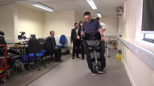 Clinical Test of Rex Robotic Device as Rehabilitation Aid for MS Patients Starting in UK