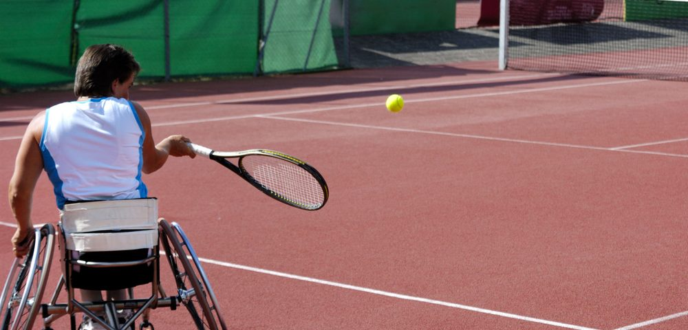 Request for Tennis Lessons Leads to Academy Teaching Many Disabled