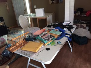 multiple sclerosis fatigue results in table clutter photo