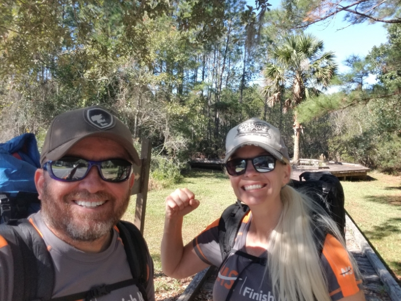 hiked the Palmetto Trail