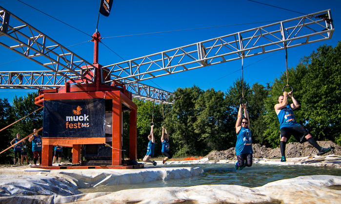 National MS Society Welcomes Mud-Lovers to 2018 MuckFest MS