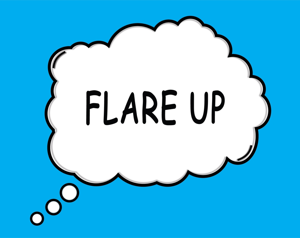 triggers, flare-up