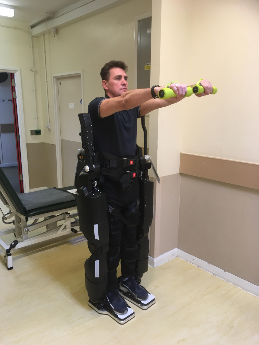 robotic-assisted exercise