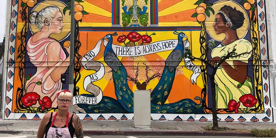 Muralist Lydia Emily Uses Art to Publicize Hardships of Life with MS