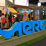 Merck booth at ECTRIMS
