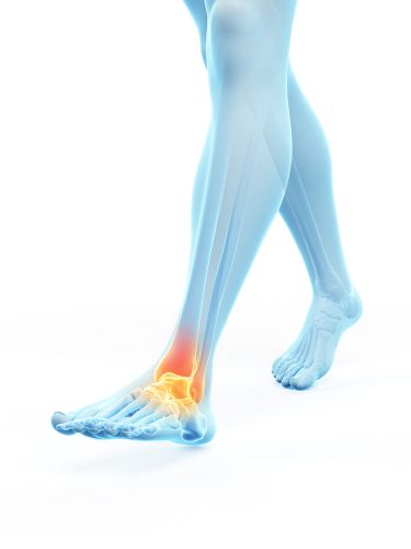 nerve signaling in the foot