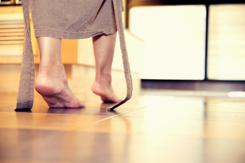 foot drop in multiple sclerosis