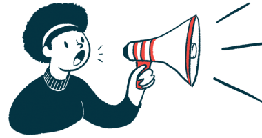healthcare | Multiple Sclerosis News Today | Survey | Illustration of woman talking through megaphone