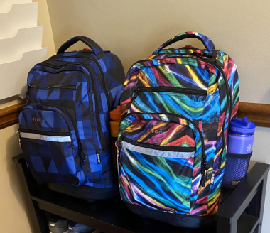 Preparation and MS / Multiple Sclerosis News Today / Photo of boys' backpacks