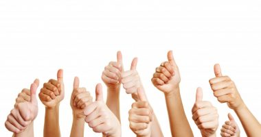 Tysabri every six weeks | Multiple Sclerosis News Today | people giving a thumb's up