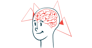 MS brain atrophy | Multiple Sclerosis News Today | illustration of person's brain